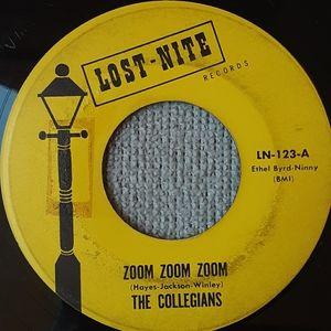The Collegians Rare 45 Rpm zoom zoom zoom